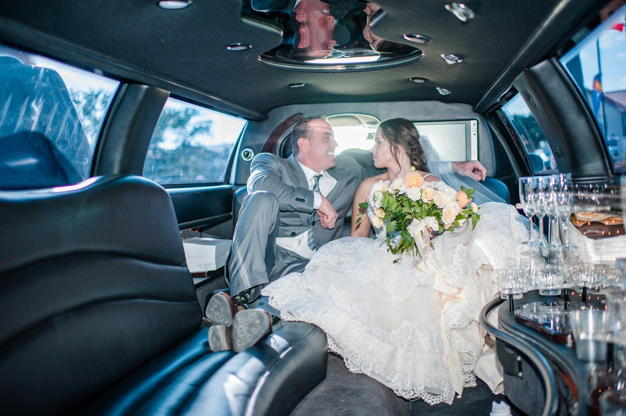 wedding limo rental hill country